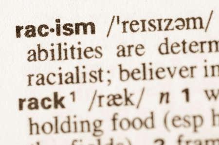 racismo: Definici�n de la palabra racismo en el diccionario