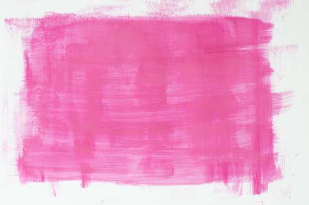 roze aquarel schilderij textuur op een witte achtergrond Stockfoto