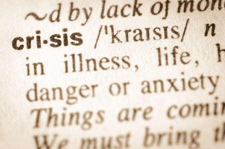 definicion: Definici�n de palabra crisis en el diccionario