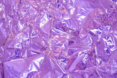 rumple: crumpled aluminium foil background texture