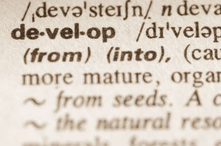 lexical: Definition of word develop in dictionary