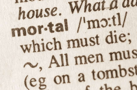 lexical: Definition of word in dictionary Stock Photo