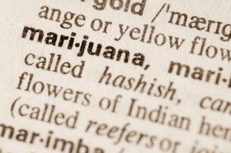 marihuana: Definici�n de la palabra en el diccionario de la marihuana