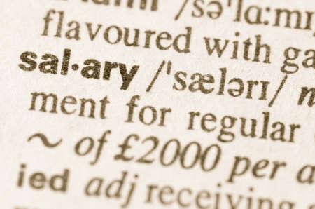 remuneraciones: Definición de la palabra en el diccionario de salario