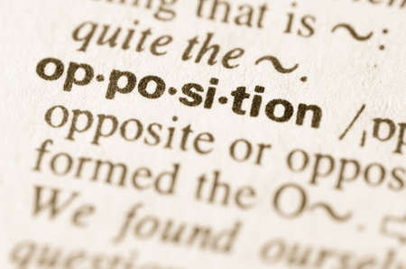 opposition: Definition of word opposition in dictionary