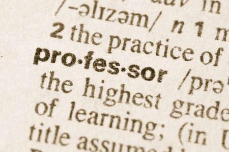 definicion: Definici�n de profesor palabra en el diccionario