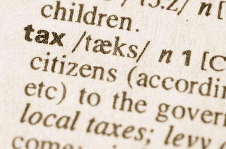 definicion: Definición de impuesto de la palabra en el diccionario
