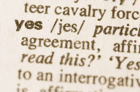 Definition Of Word Enigma In Dictionary Stock Photo Picture And Definition  Of Word Yes In Dictionary