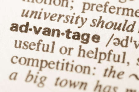 lexical: Definition of word advantage in dictionary