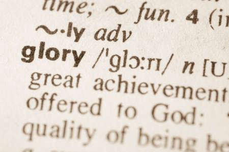 definicion: Definici�n de la palabra en el diccionario de la gloria