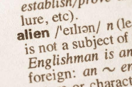 definicion: Definici�n de la palabra ajena en el diccionario