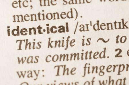 definicion: Definici�n de la misma palabra en el diccionario