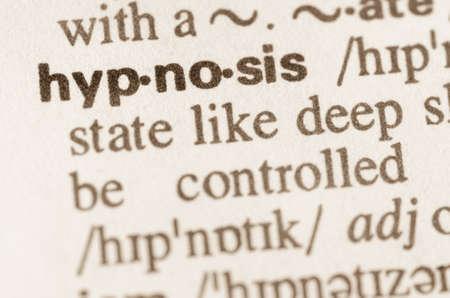 definicion: Definici�n de la palabra en el diccionario de la hipnosis