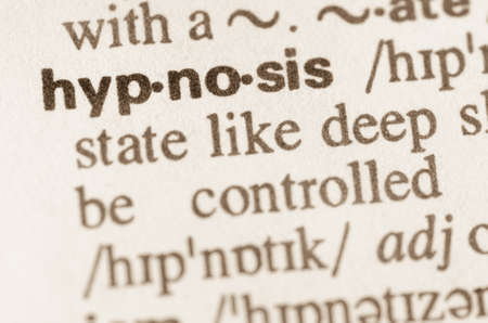 Definition of word hypnosis  in dictionary