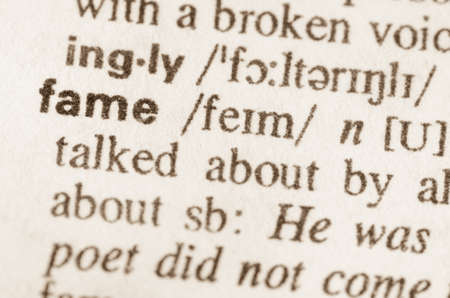 eminence: Definition of word fame in dictionary