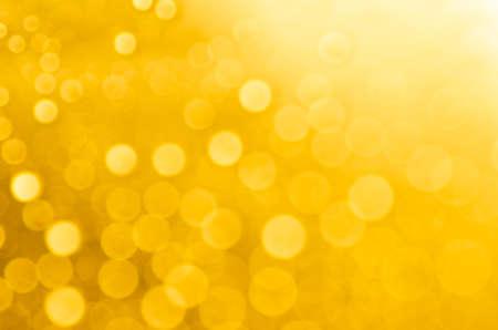 gele abstracte wazig bokeh achtergrond verlichting
