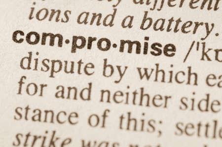 definicion: Definición de compromiso palabra en el diccionario
