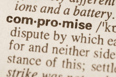 compromise: Definition of word compromise in dictionary