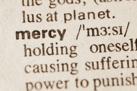 lexical: Definition of word mercy  in dictionary