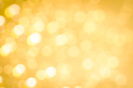 golden abstract blurred bokeh lights background
