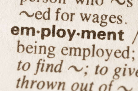 definición: Definición de empleo palabra en el diccionario