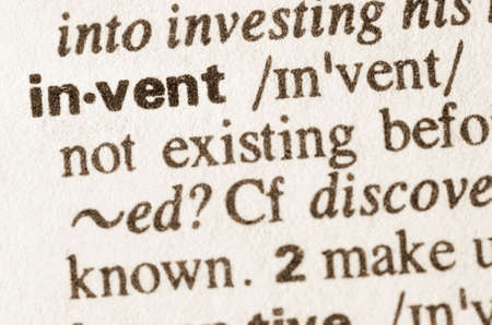 invent: Definition of word invent in dictionary