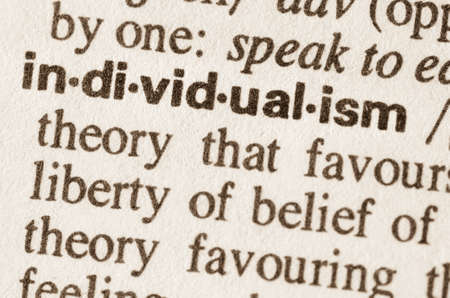 Definition of word individualism  in dictionary