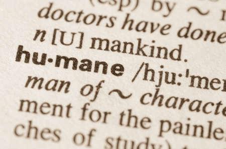 definicion: Definici�n de la palabra humana en el diccionario