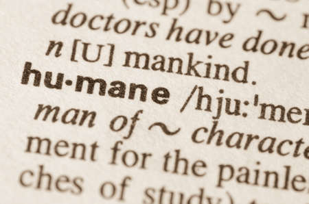 Humane: Definition of word  humane  in dictionary