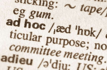 Marvelous Definition Of Word Enigma In Dictionary Stock Photo Picture And Definition  Of Word Ad Hoc In