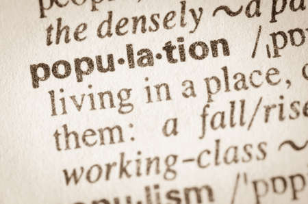 citizenry: Definition of word population in dictionary