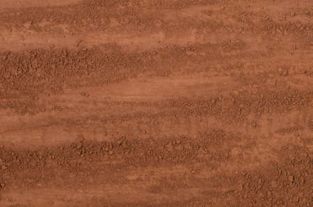 Brown cocoa powder background texture Stock Photo