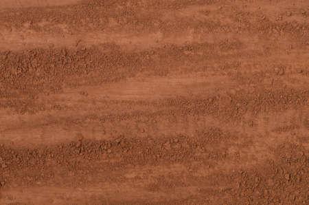 Brown cocoa powder background texture Standard-Bild