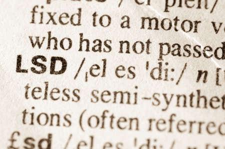 lsd: definition of word LSD in dictionary