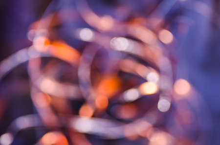 glimmering: abstract blurred bokeh lights background