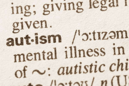 dictionary: Definition of word autism  in dictionary