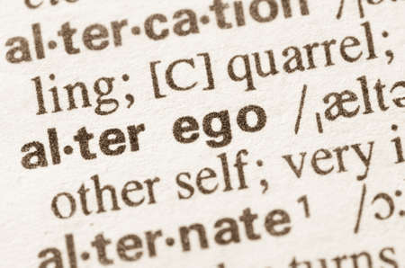 lexical: Definition of word alter ego in dictionary