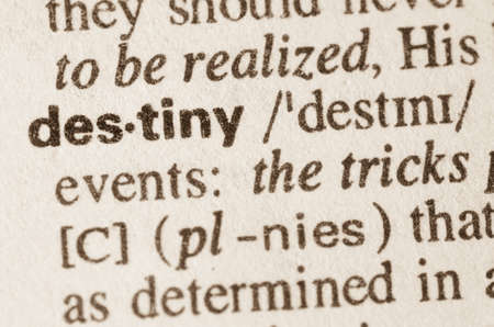 definition: Definition of word destiny in dictionary