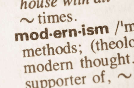 modernism: Definition of word modernism  in dictionary