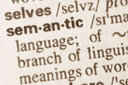 semantic: Definition of word semantic in dictionary