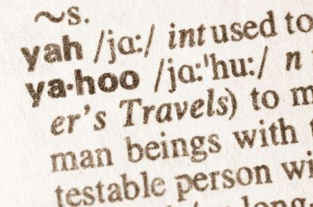 definicion: Definici�n de la palabra en el diccionario de jahoo