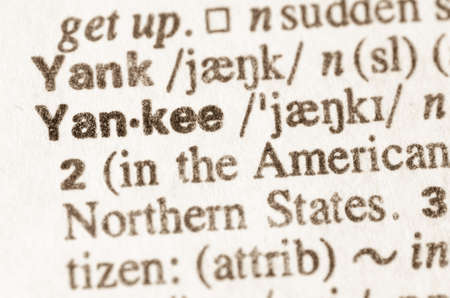 yankee: Definition of word Yankee in dictionary