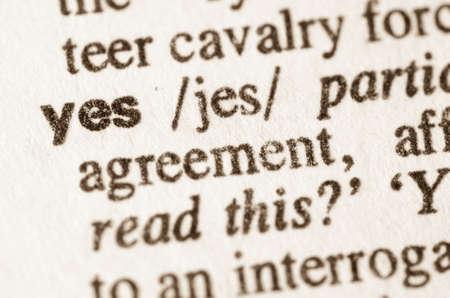 definicion: Definici�n de s� de palabras en el diccionario
