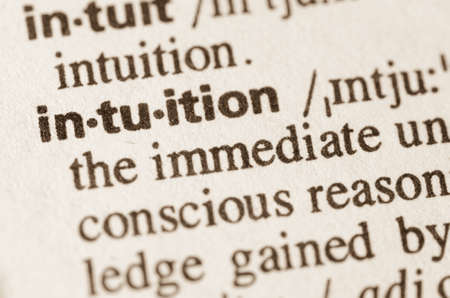 Definition of word intuition in dictionary