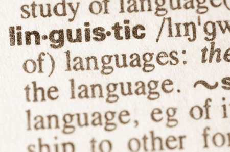 dictionary: Definition of word linguistic in dictionary