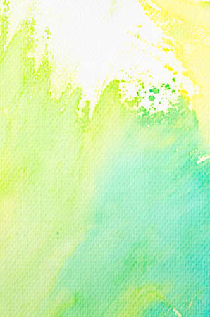 colorful watercolor painting on paper background texture