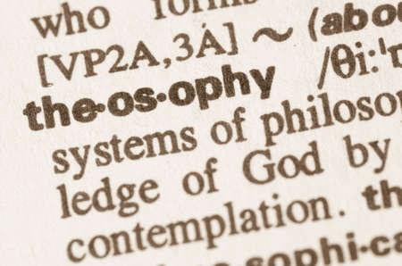 definición: Definición teosofía de la palabra en el diccionario