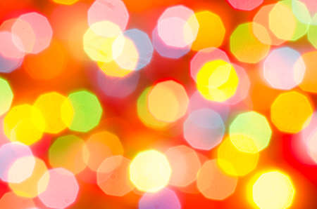 holiday multicolored blurred lights background