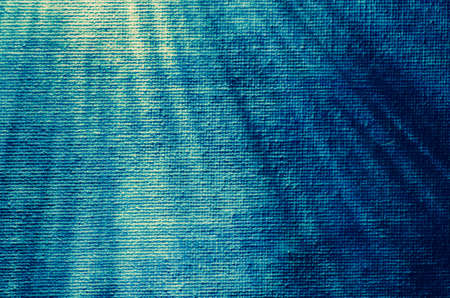 canvas background: blue abstract art  background texture with beams Stock Photo