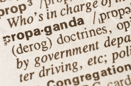 lexical: Definition of word propaganda in dictionary